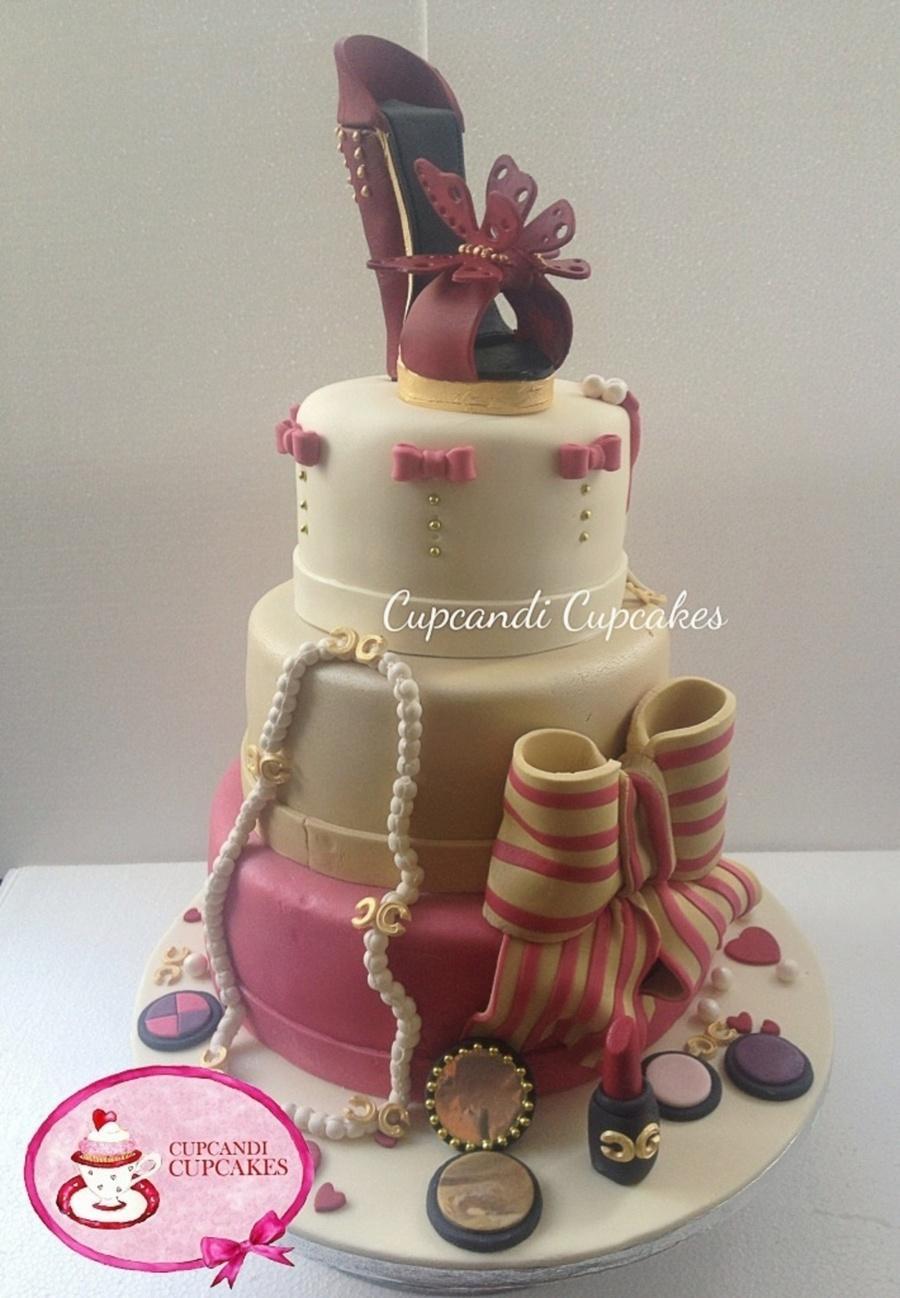 Designer Shoe Birthday Cake Cakecentral Com