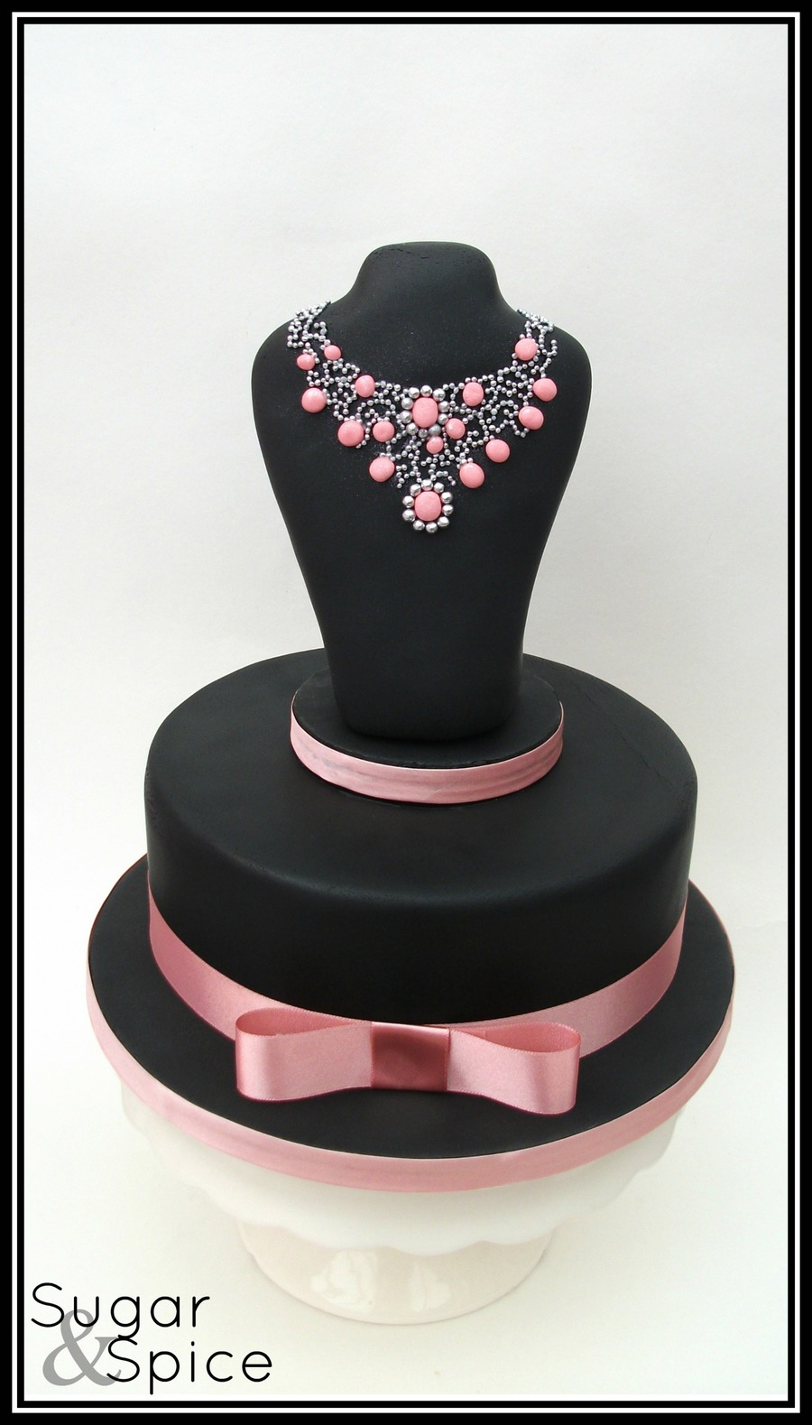 A Surprise 21St Birthday Cake Chocolate Mud With An Rkt Topper Decod Fondant Stones And
