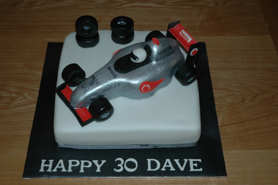 For F1 Fans  on Cake Central