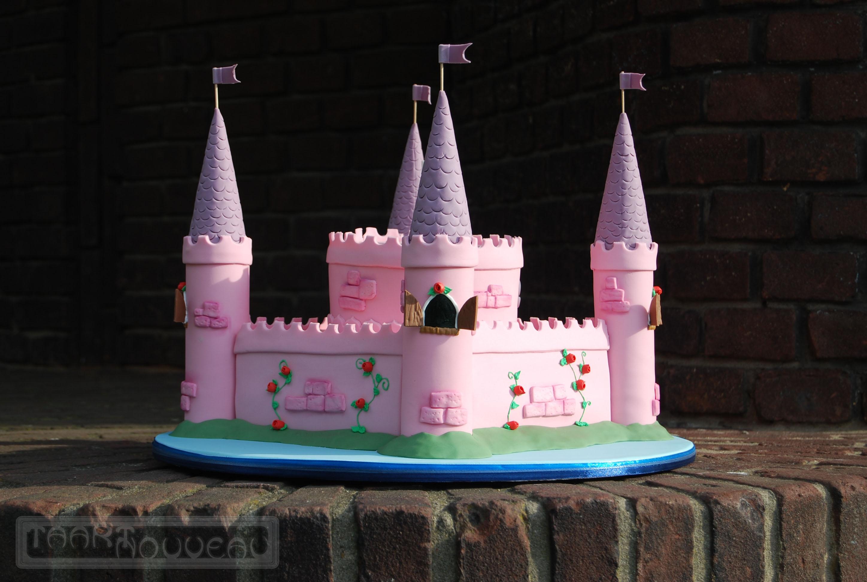 Girls Castle Cake Cakecentral Com