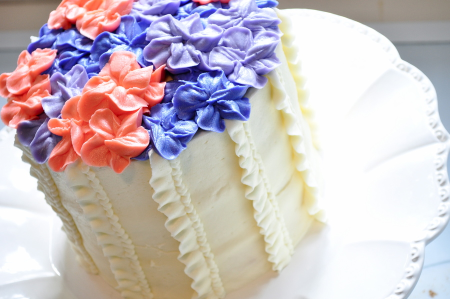 Ruffles And Hydrangeas on Cake Central