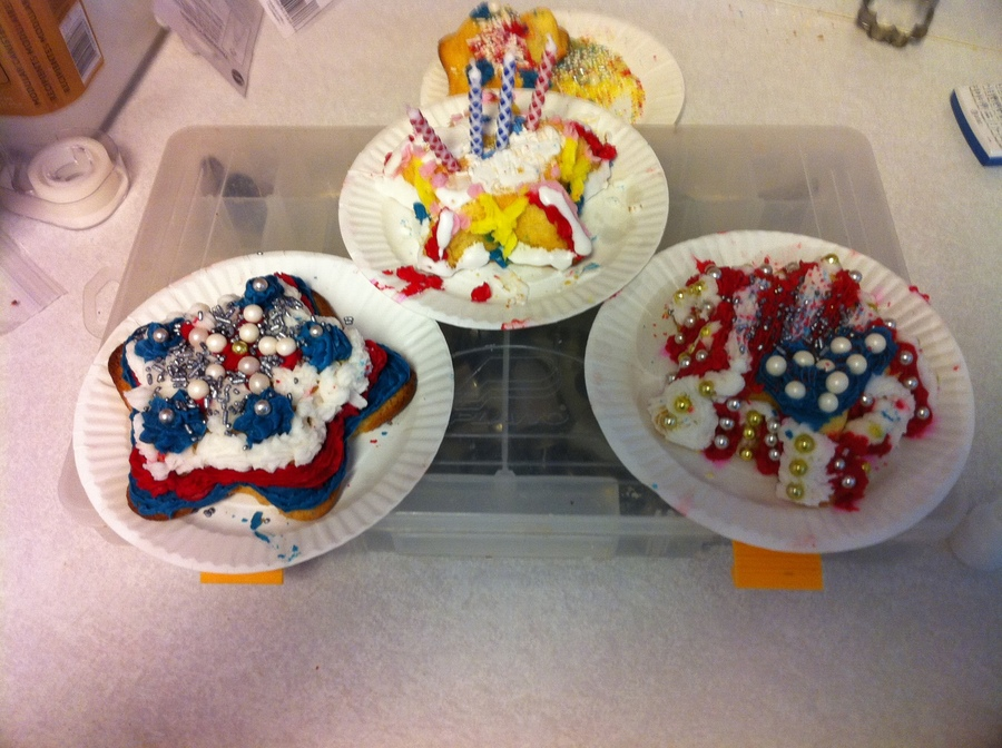Fourth Of July  on Cake Central