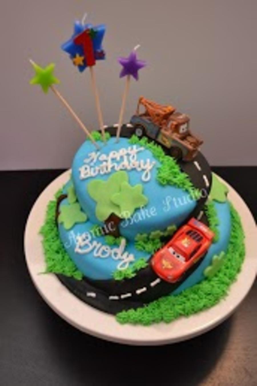Cars Disneypixar Cake CakeCentralcom