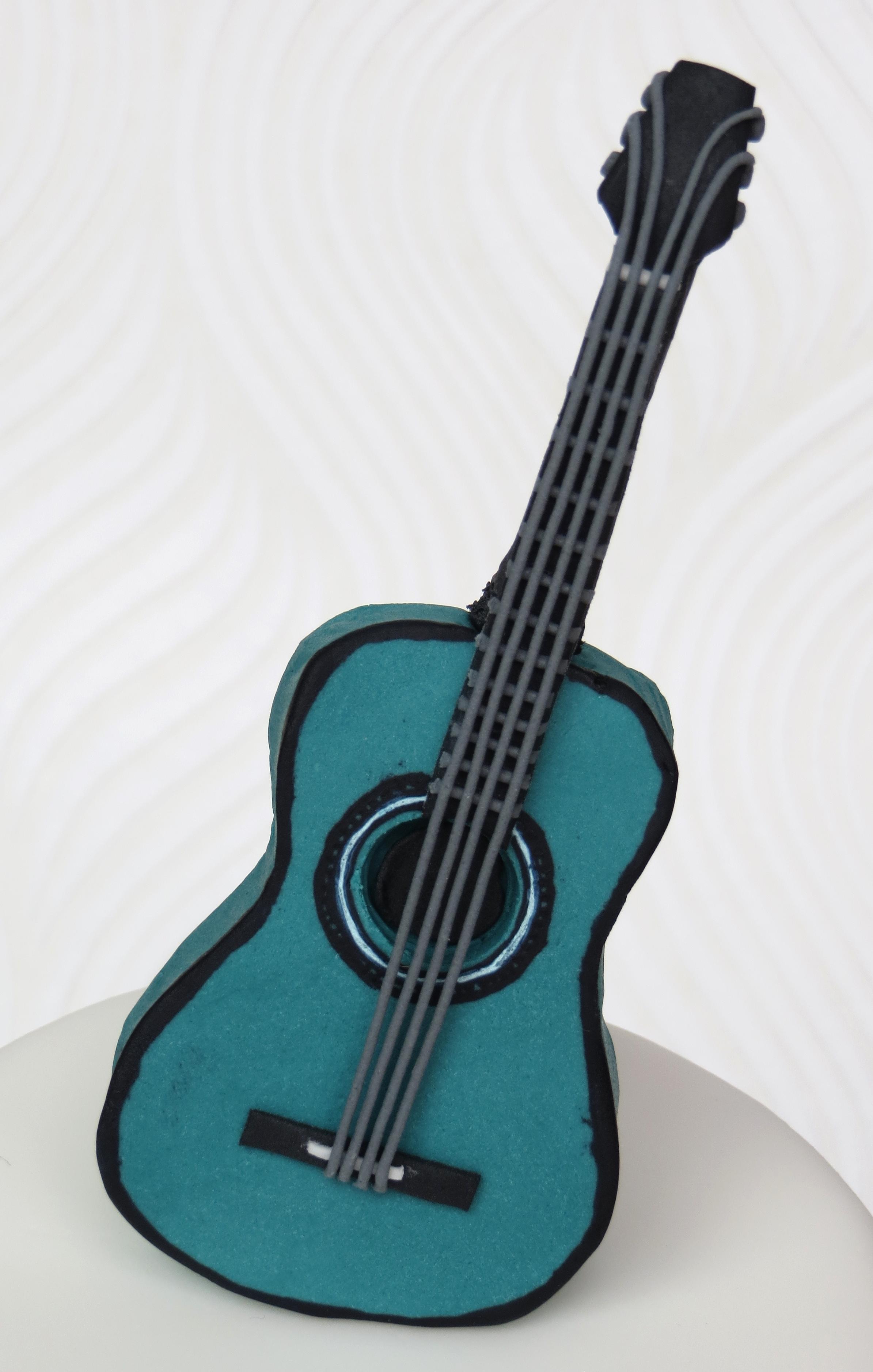 Fantastic Acoustic Guitar Cake Template Frieze Professional Resume