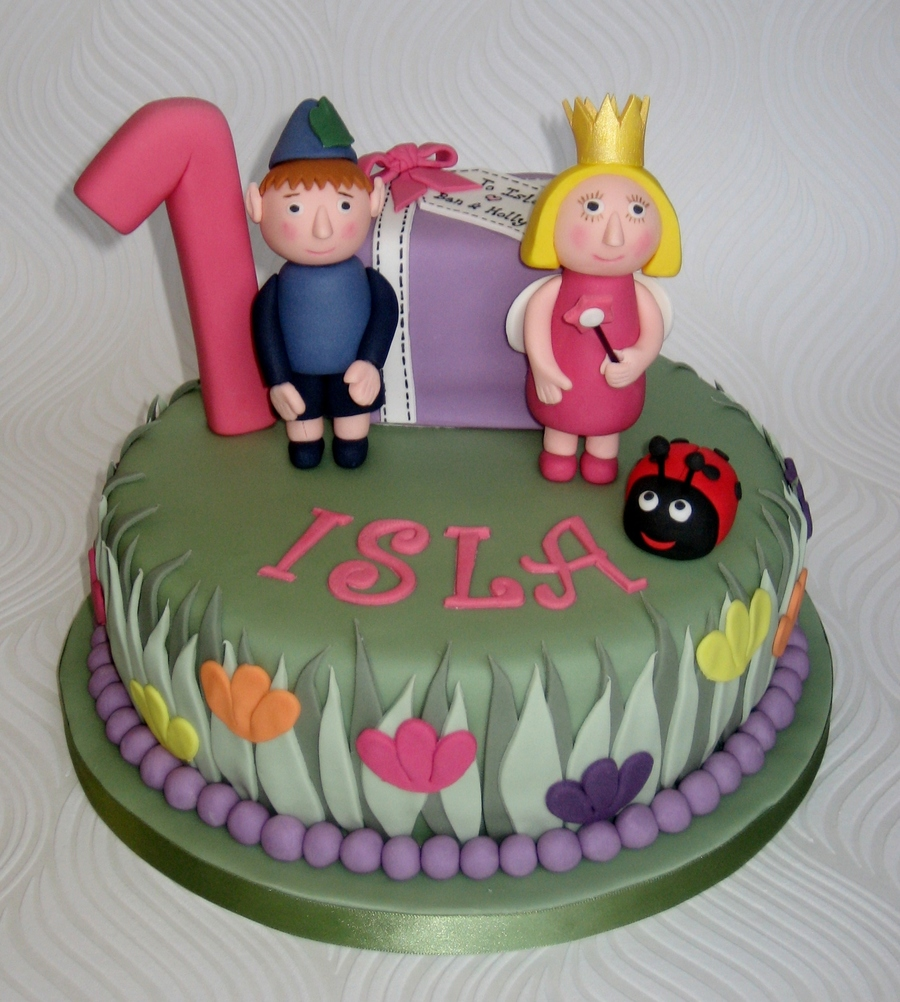 Ben And Holly Little Kingdom Birthday Cake
