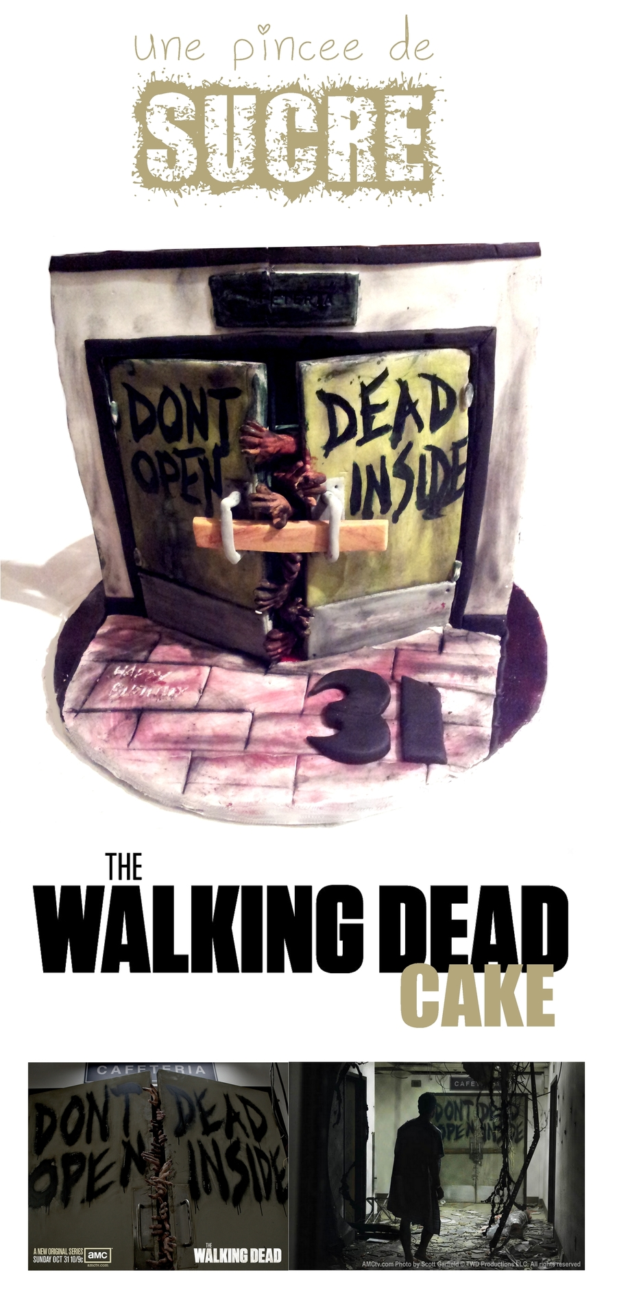 The Walking Dead Cake on Cake Central