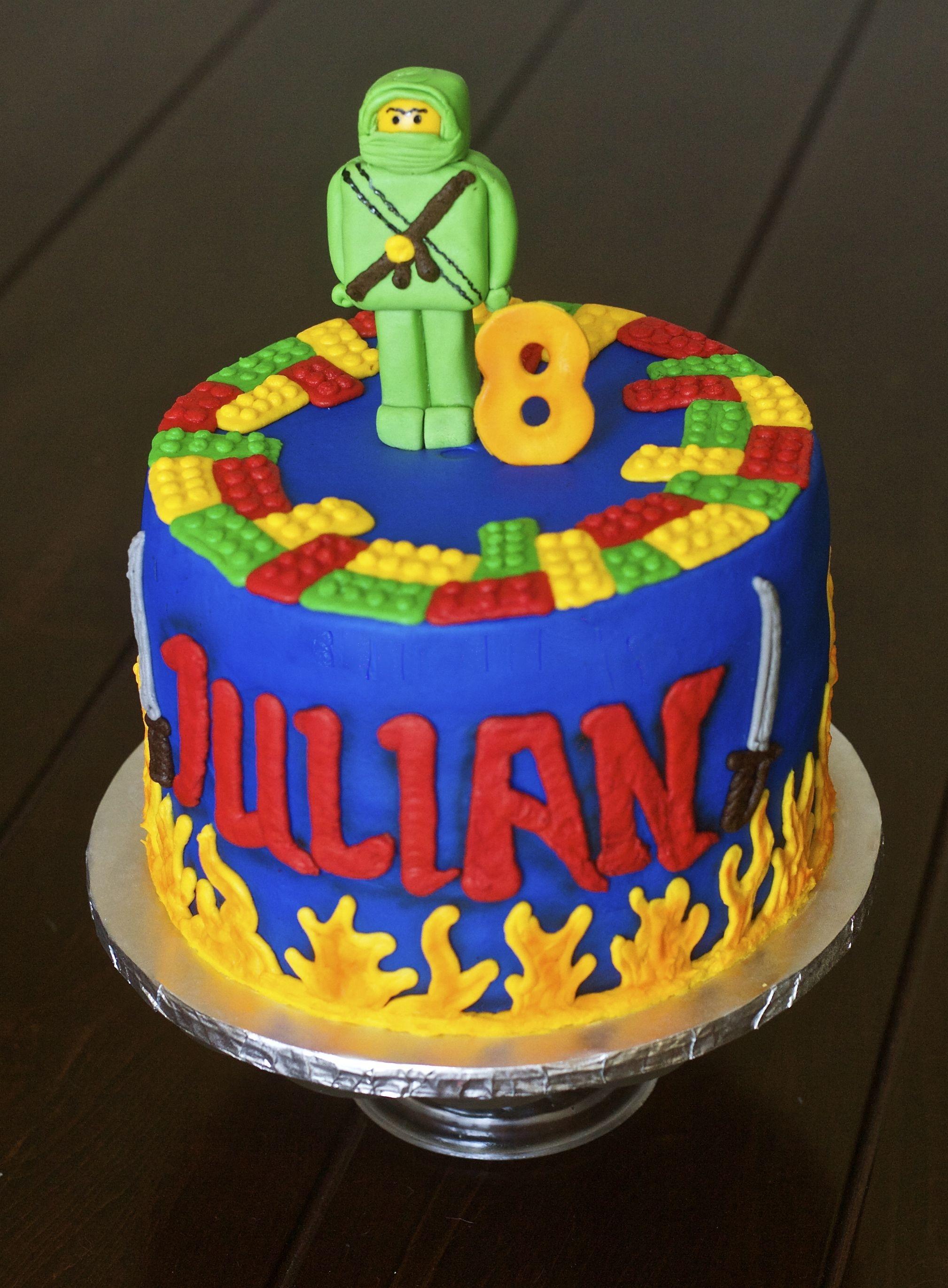 Lego Ninjago Cake Cakecentral Com
