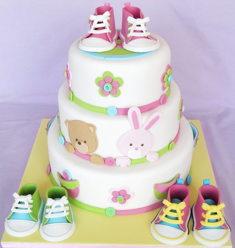 Baby Shoes Cake Cakecentral Com