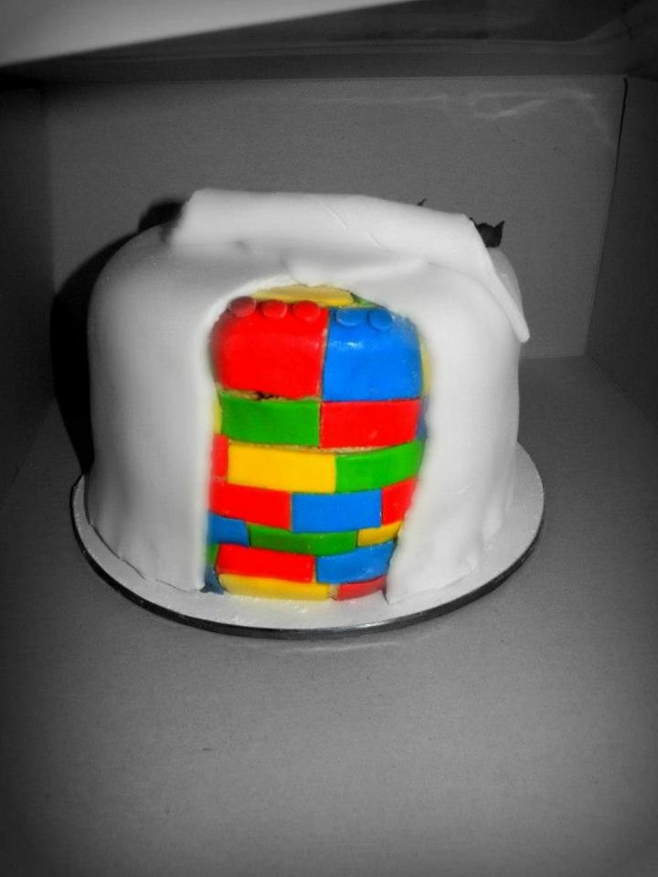 This Was A Double Birthday Cake For A 3 And 1 Year Old With A