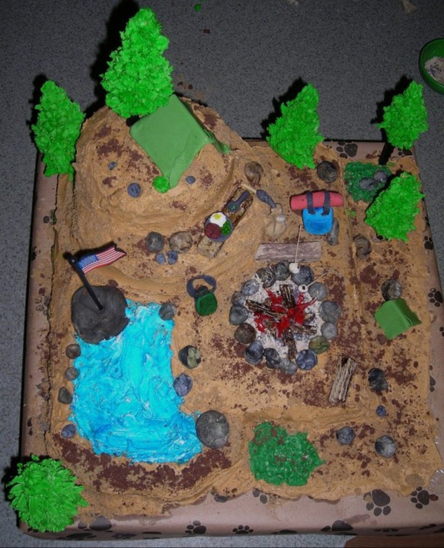 Scouts Camping Out on Cake Central