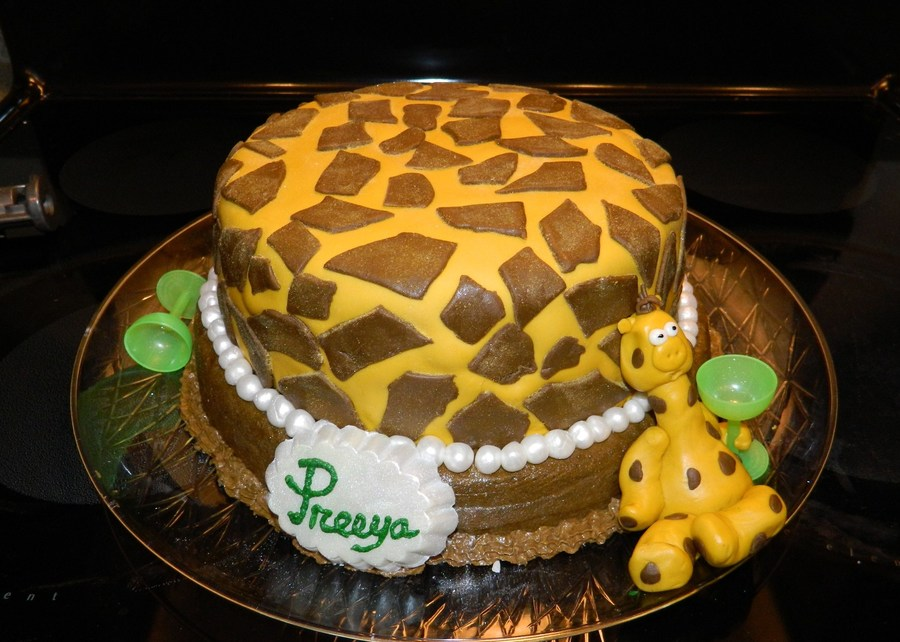 Tipsy Giraffe 21St Birthday on Cake Central