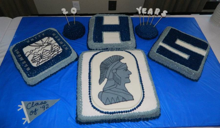 High School 20 Year Reunion Cake on Cake Central