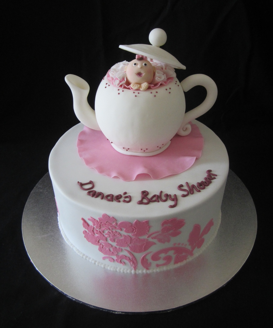 This Cake Was For A Baby Showerkitchen Tea on Cake Central