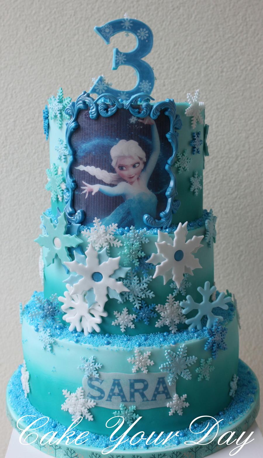 Frozen Cake - CakeCentral.com