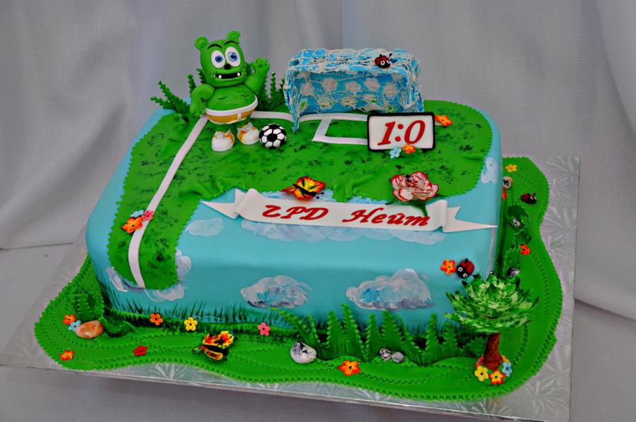 Gummy Cake Decoration
