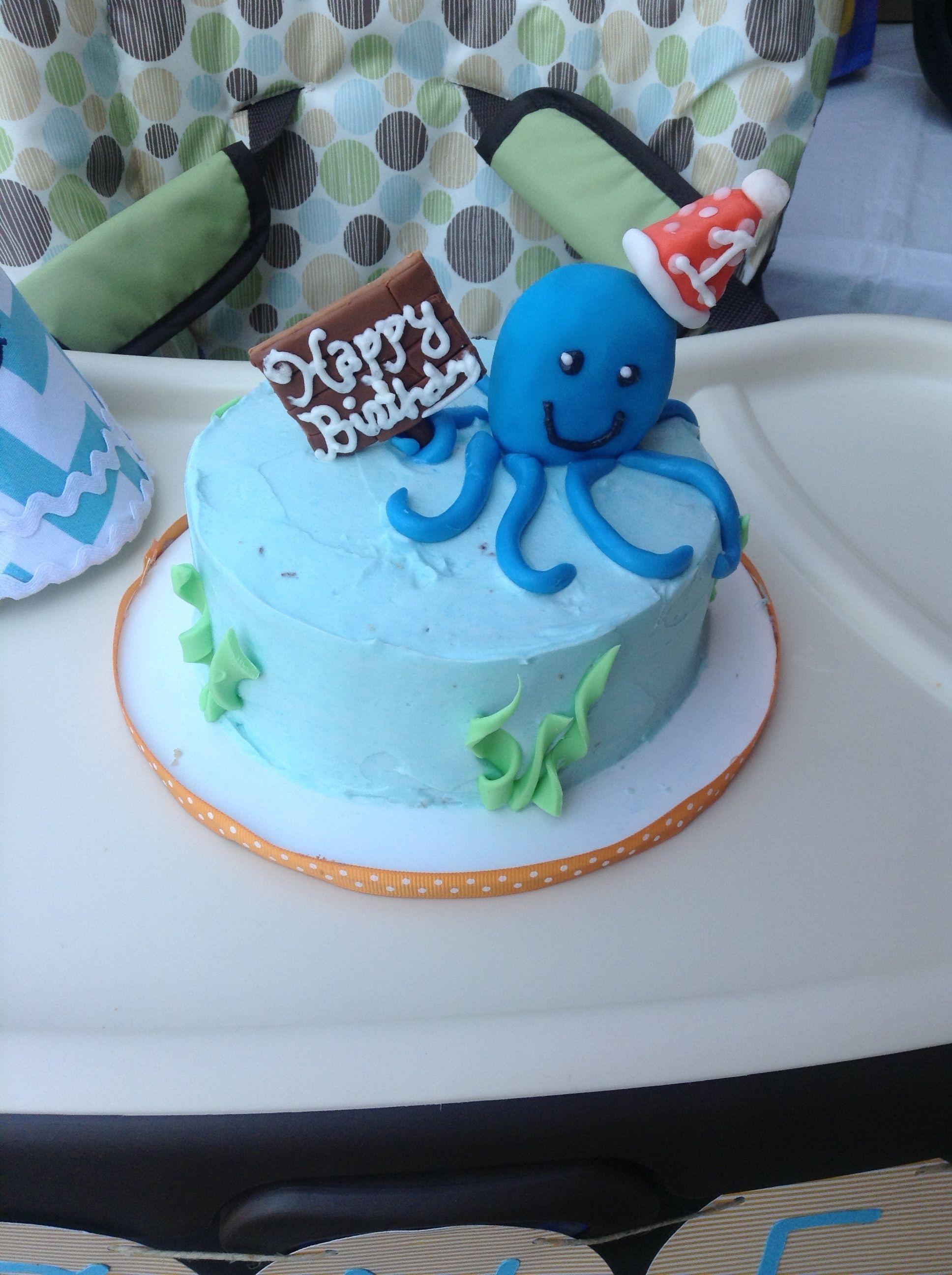 Under The Sea St Birthday Cake