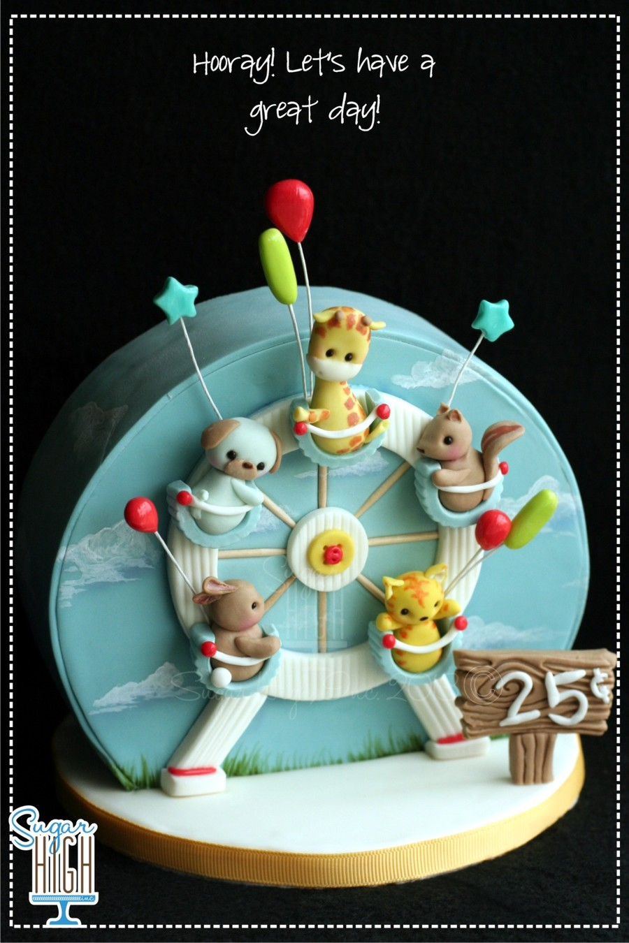 Ferris Wheel Cake Cakecentral