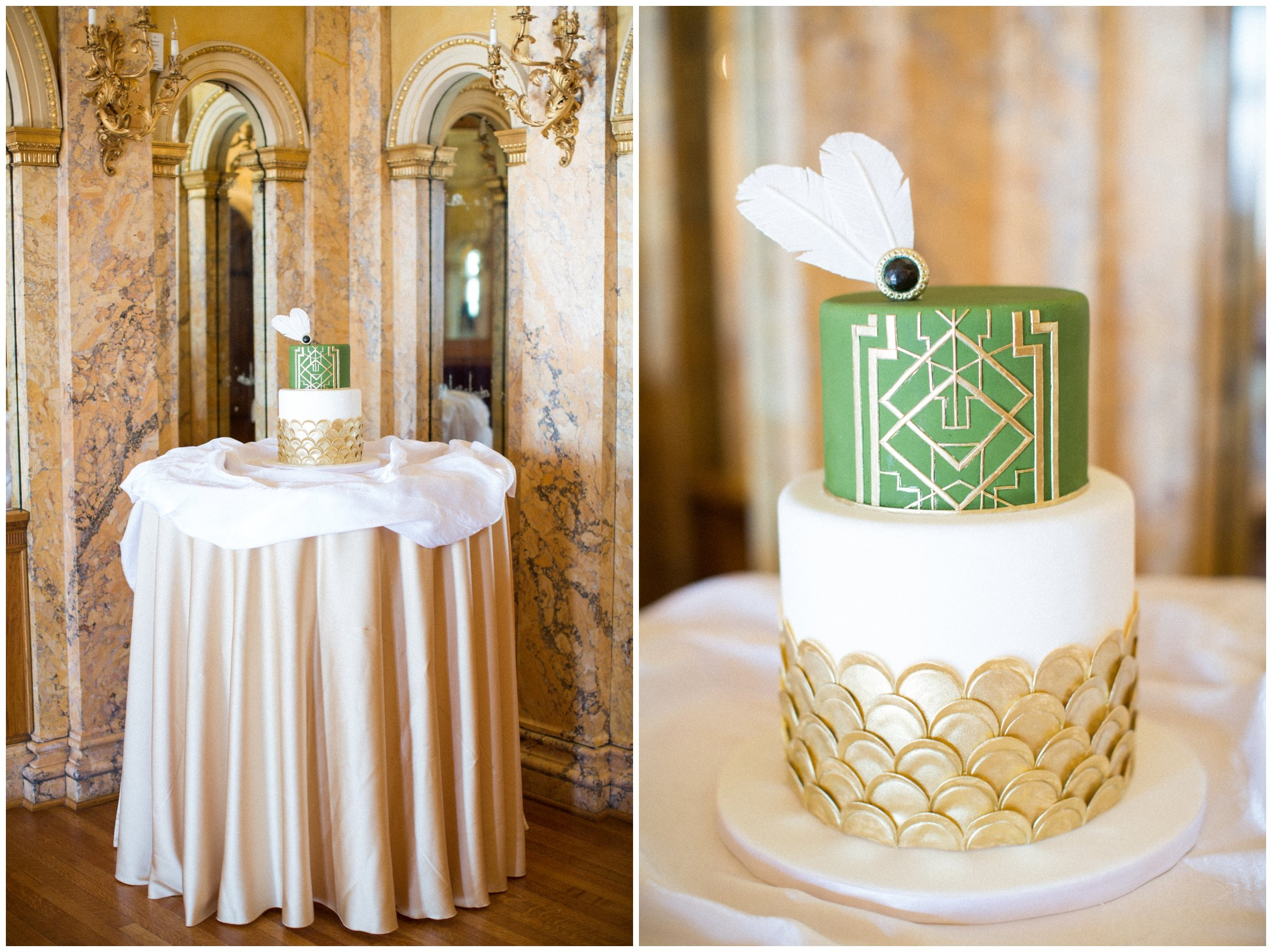 Great Gatsby Inspired Cake CakeCentral