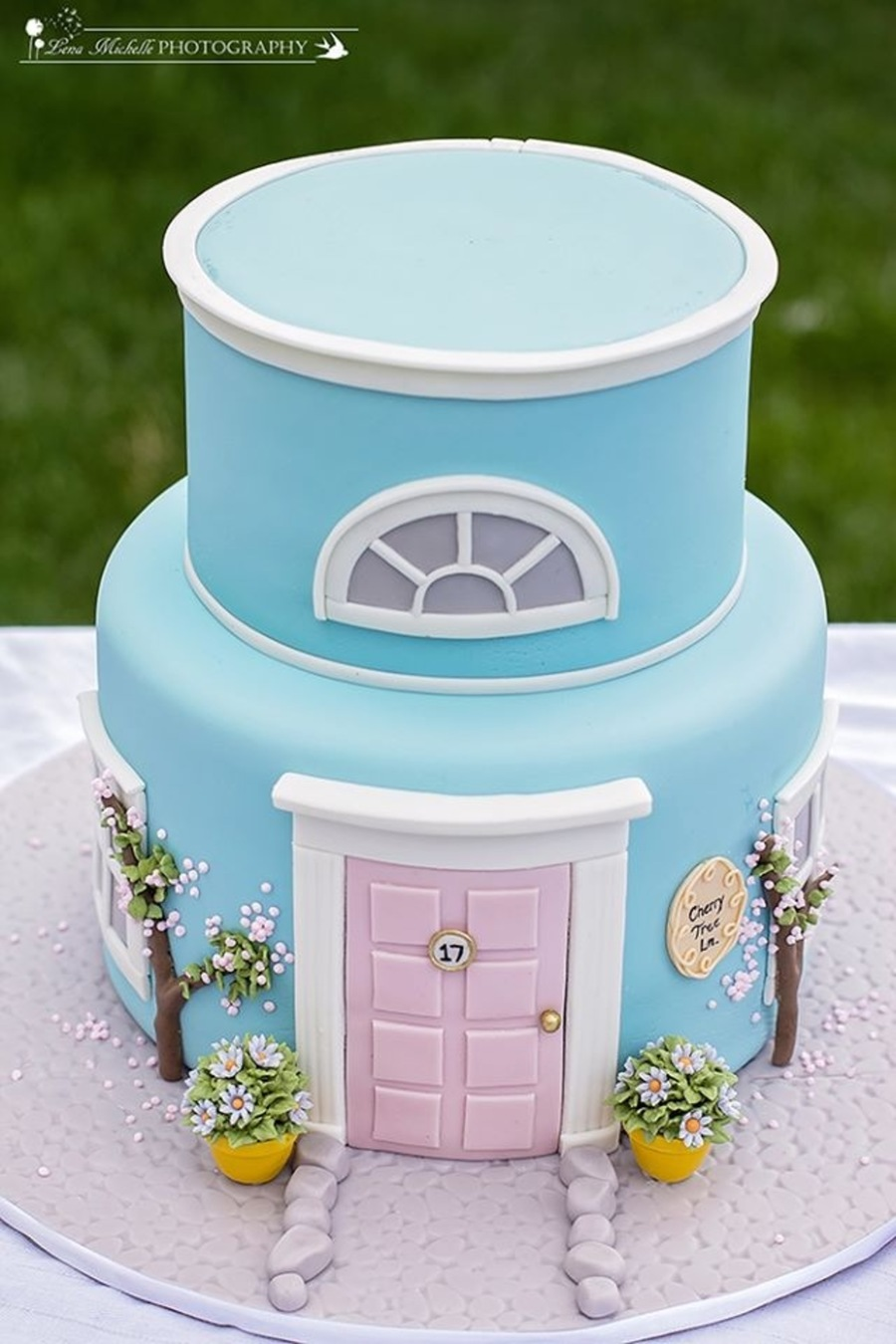 Mary Poppins Themed Cake 17 Cherry Tree Lane Whimsical