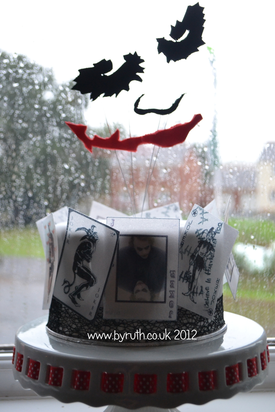 Batman Dark Knight Joker Cake Cakecentral Com