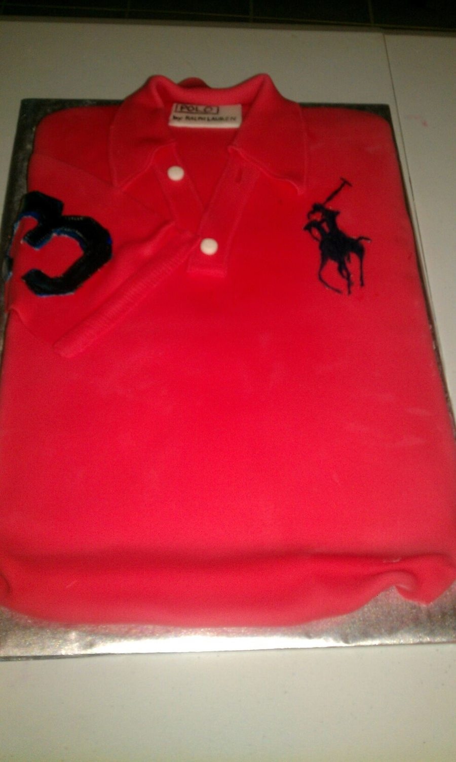 Ralph Lauren Polo Shirt Birthday Cake Cakecentral
