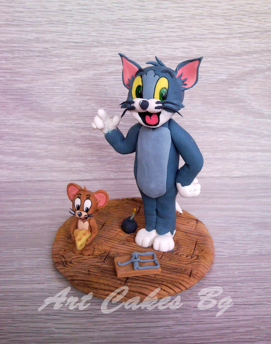 Tom And Jerry Cake Topper CakeCentralcom