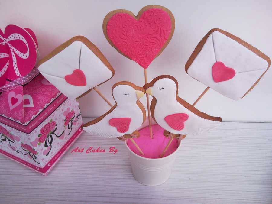 Cookies For Valentine's Day on Cake Central