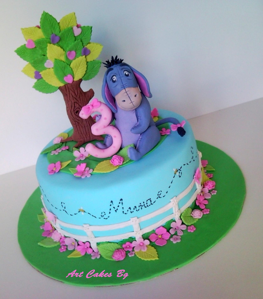 Eeyore Cake on Cake Central