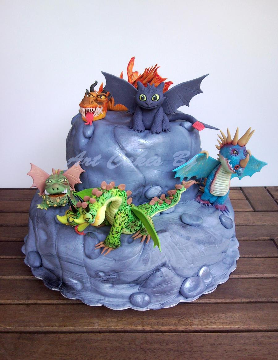 How To Train A Dragon Cake Ideas