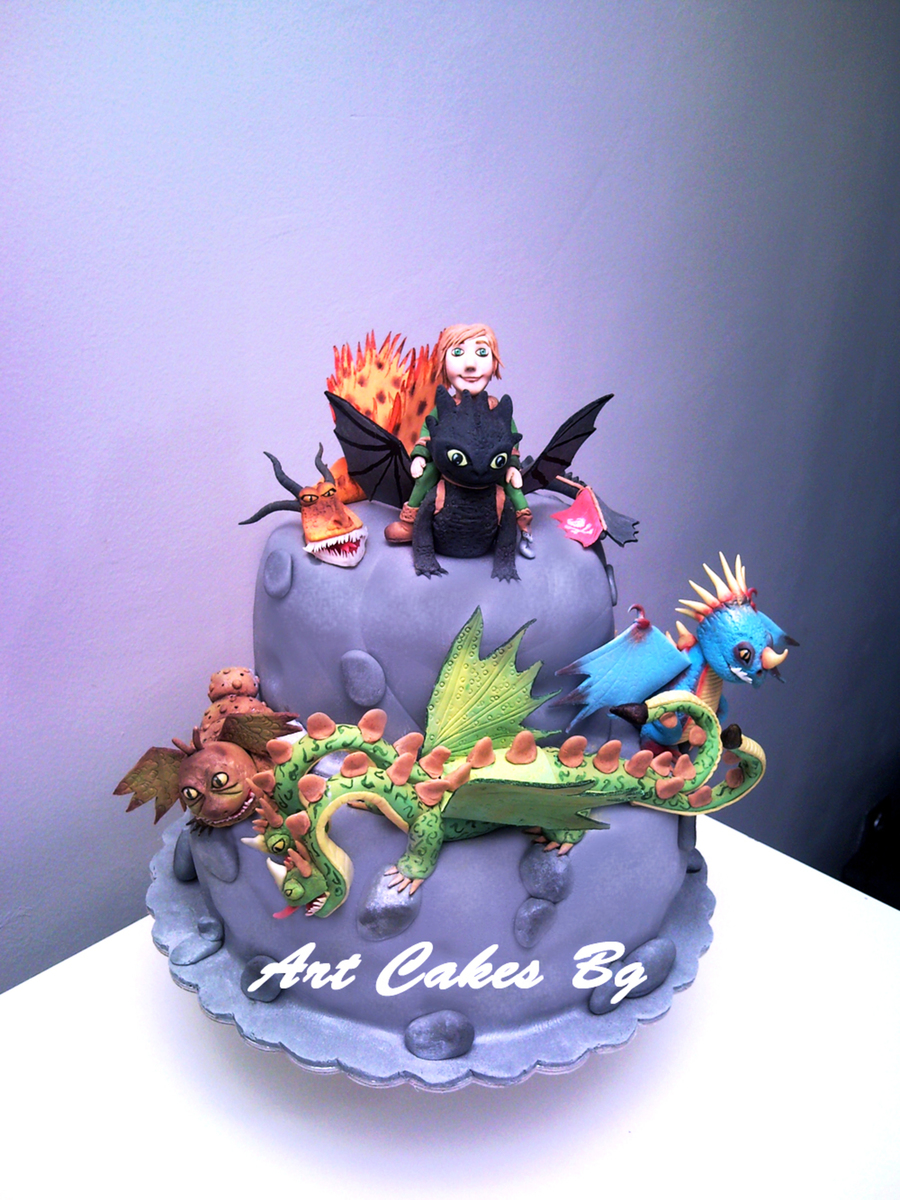 Cake 2 How To Train Your Dragon Dragons Riders Of