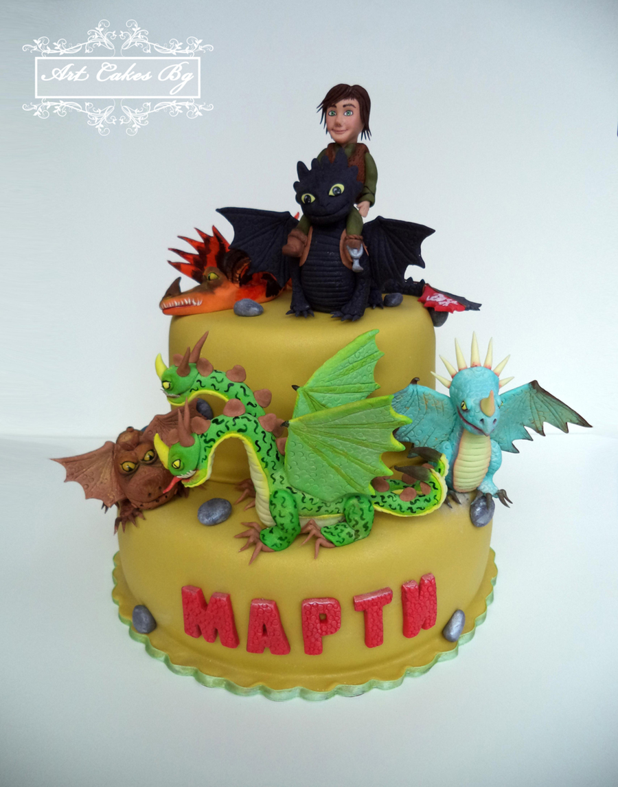 Cake : How To Train Your Dragon 2; Dragons: Riders Of Berk ; Dragons: Defenders Of Berk on Cake Central