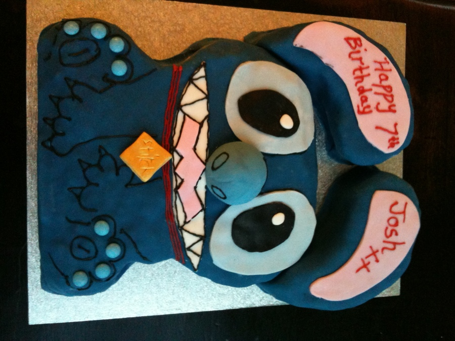 Stitch From Lilo And Stitch Cake Cakecentral