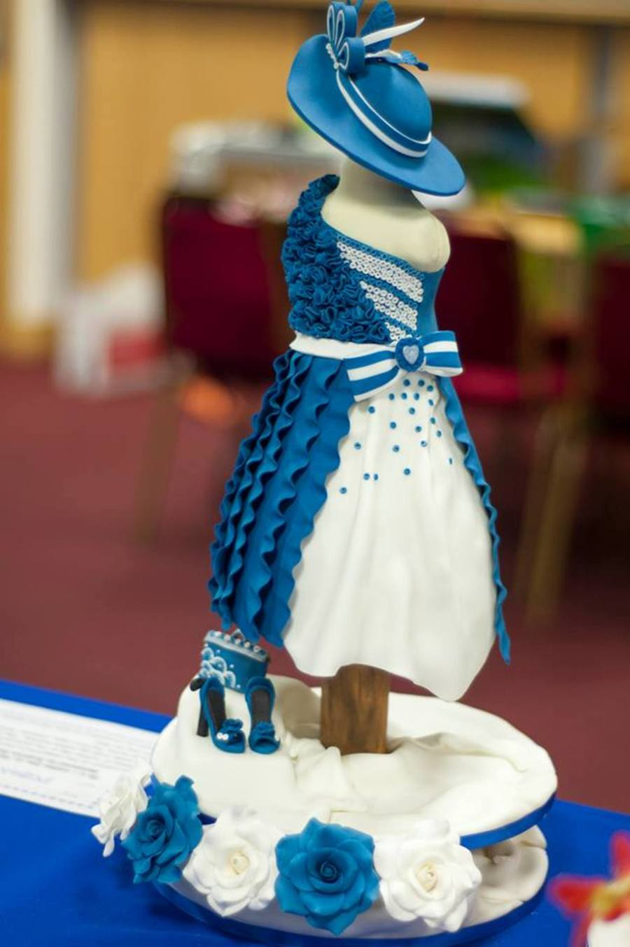 Dress And Hat Cake The Skirt Bit Of The Dress Is Cake And The Top Bit Is Rkt on Cake Central