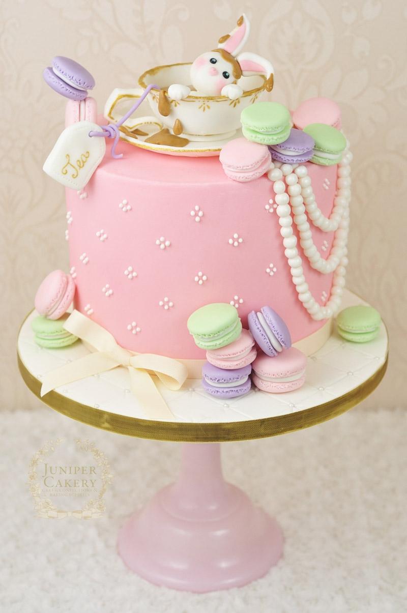 Birthday Cake Macarons Strawberry Macaron Cake Idea Birthday Cake