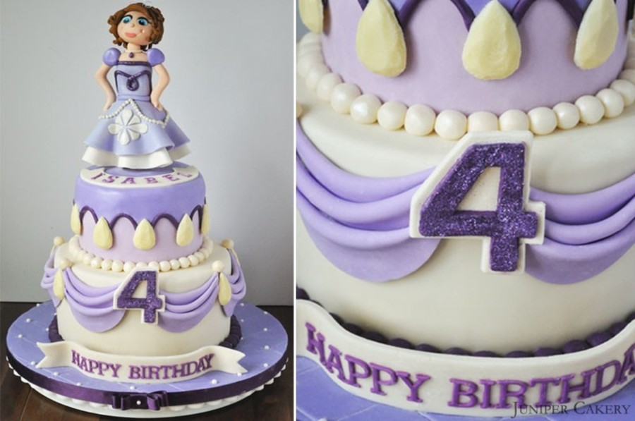 Sofia The First Birthday Cake Cakecentral
