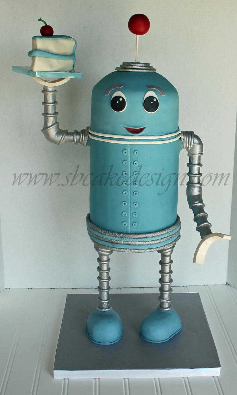 3d Robot Cake Cakecentral Com