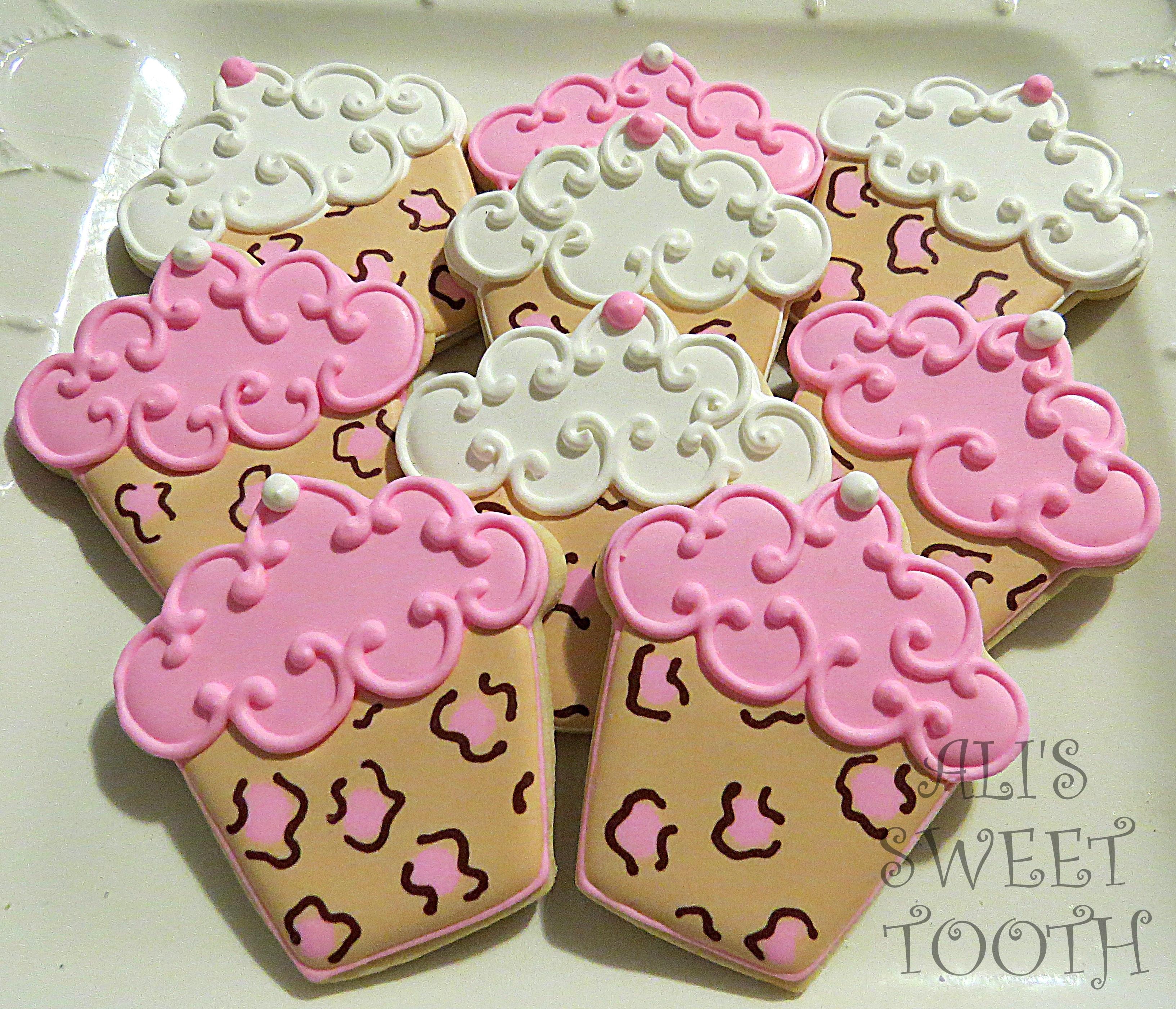 Sweet Shoppe Icecream Cupcake Sundae And Misc Cupcake Cookies ...