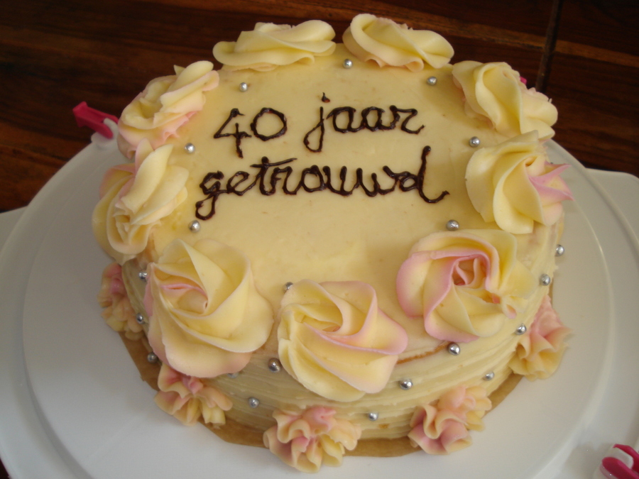 Jubileum Taart on Cake Central