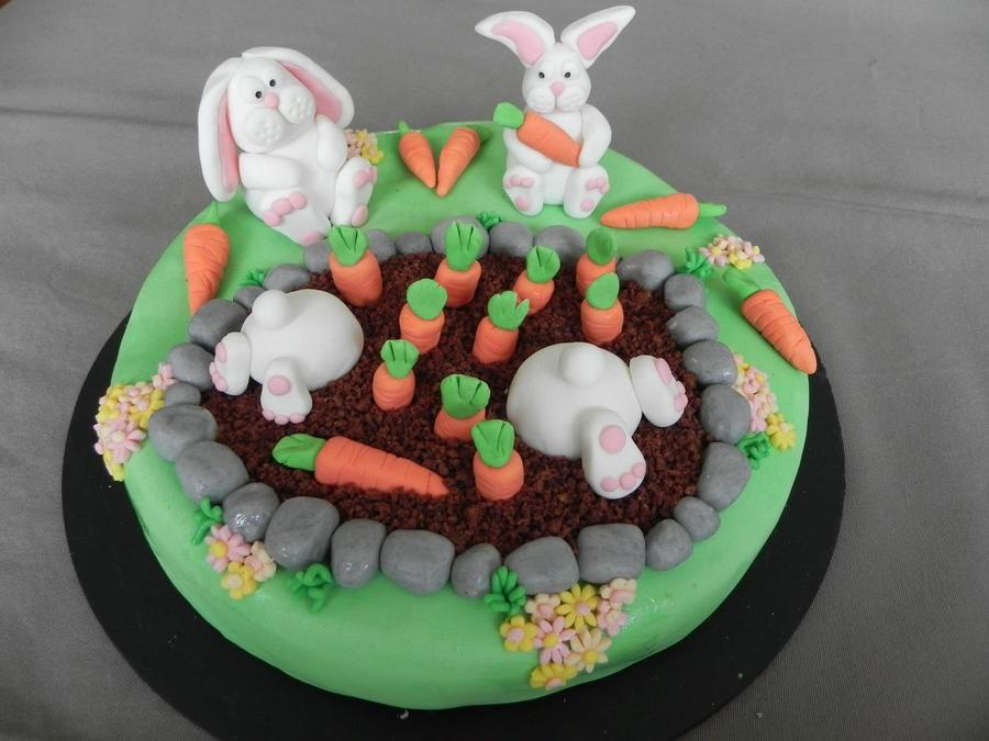 Lapins De Paques on Cake Central