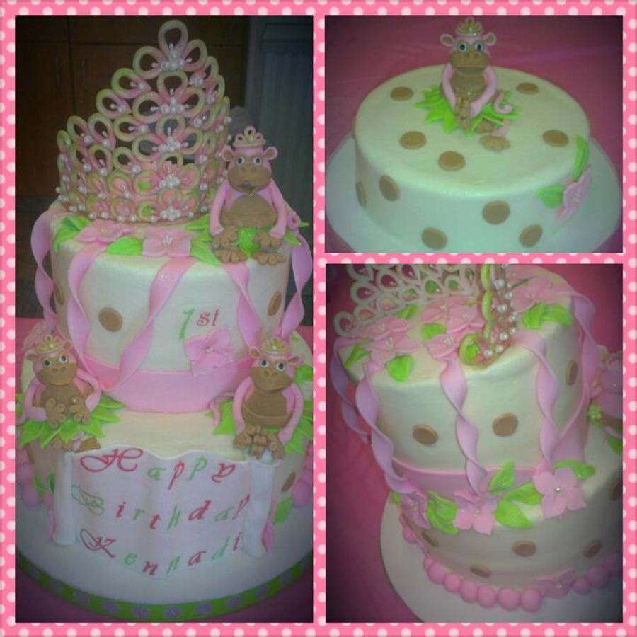 Princess Monkey Birthday Cake Image Inspiration of Cake and