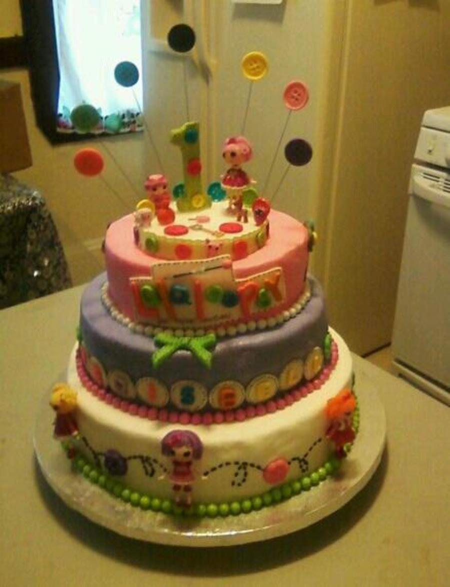 Lalaloopsy Cake Original Cake By Cake With Love I Just Make Litter Changes on Cake Central