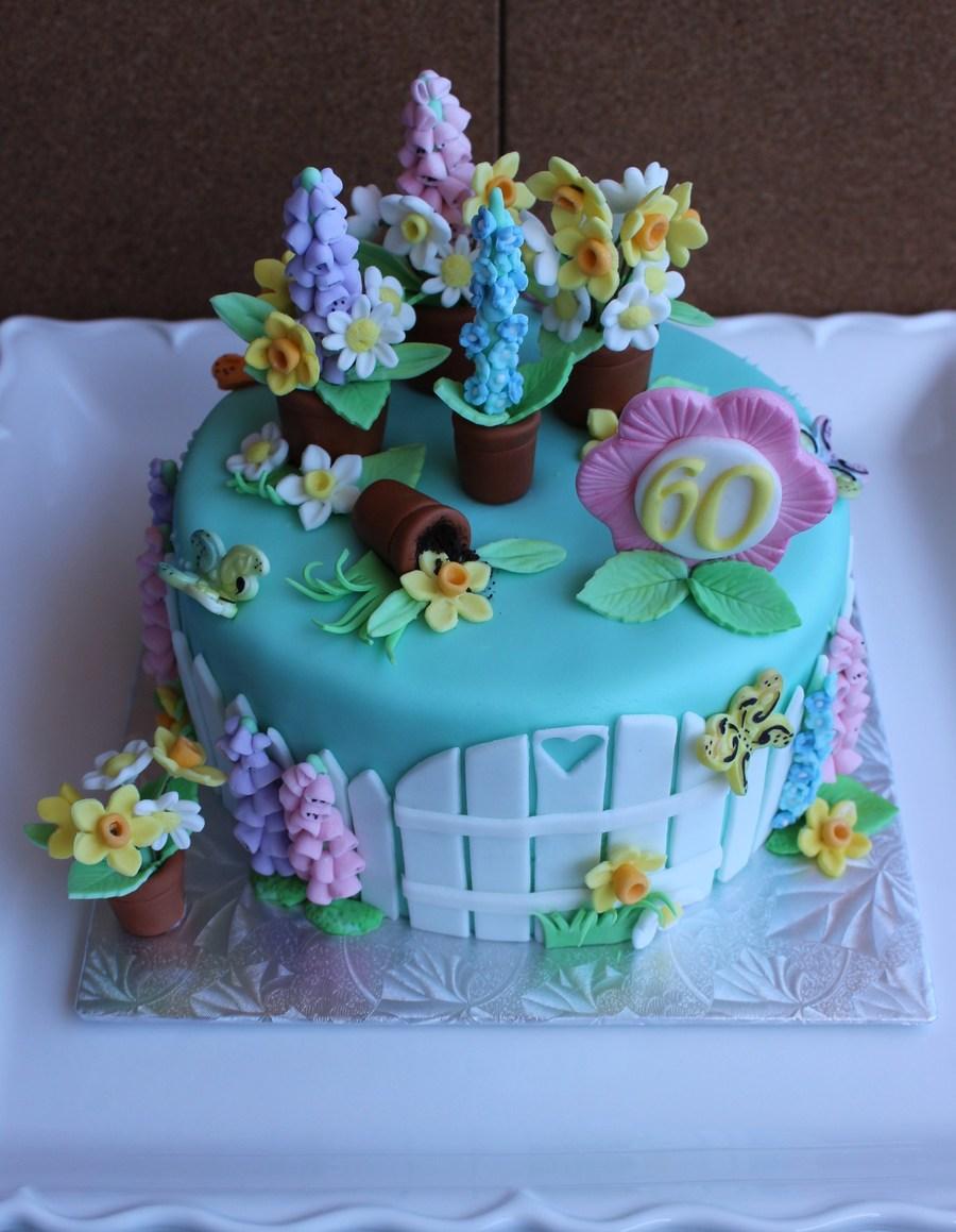 A Lovely Spring Cake Cakecentral Com