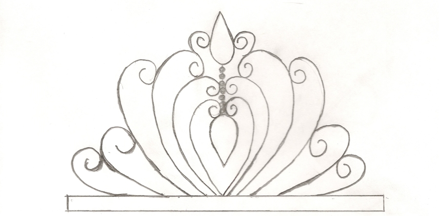 Princess Tiare Template - CakeCentral.com