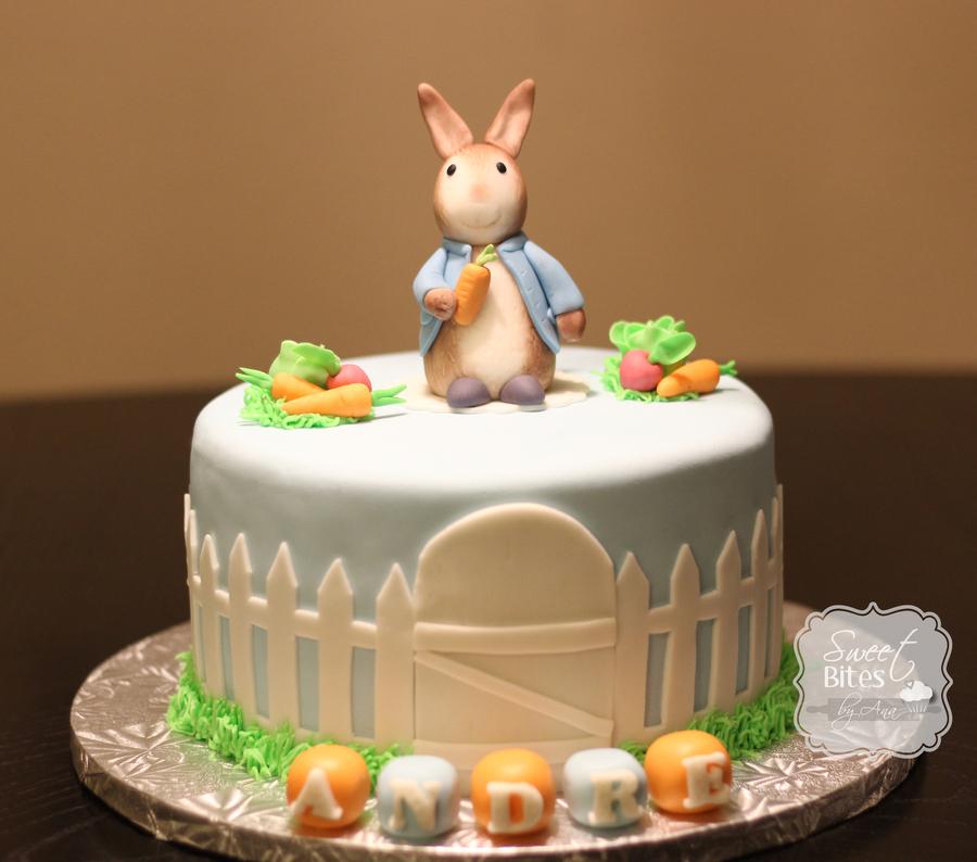 Peter Rabbit Birthday Cake Recipe