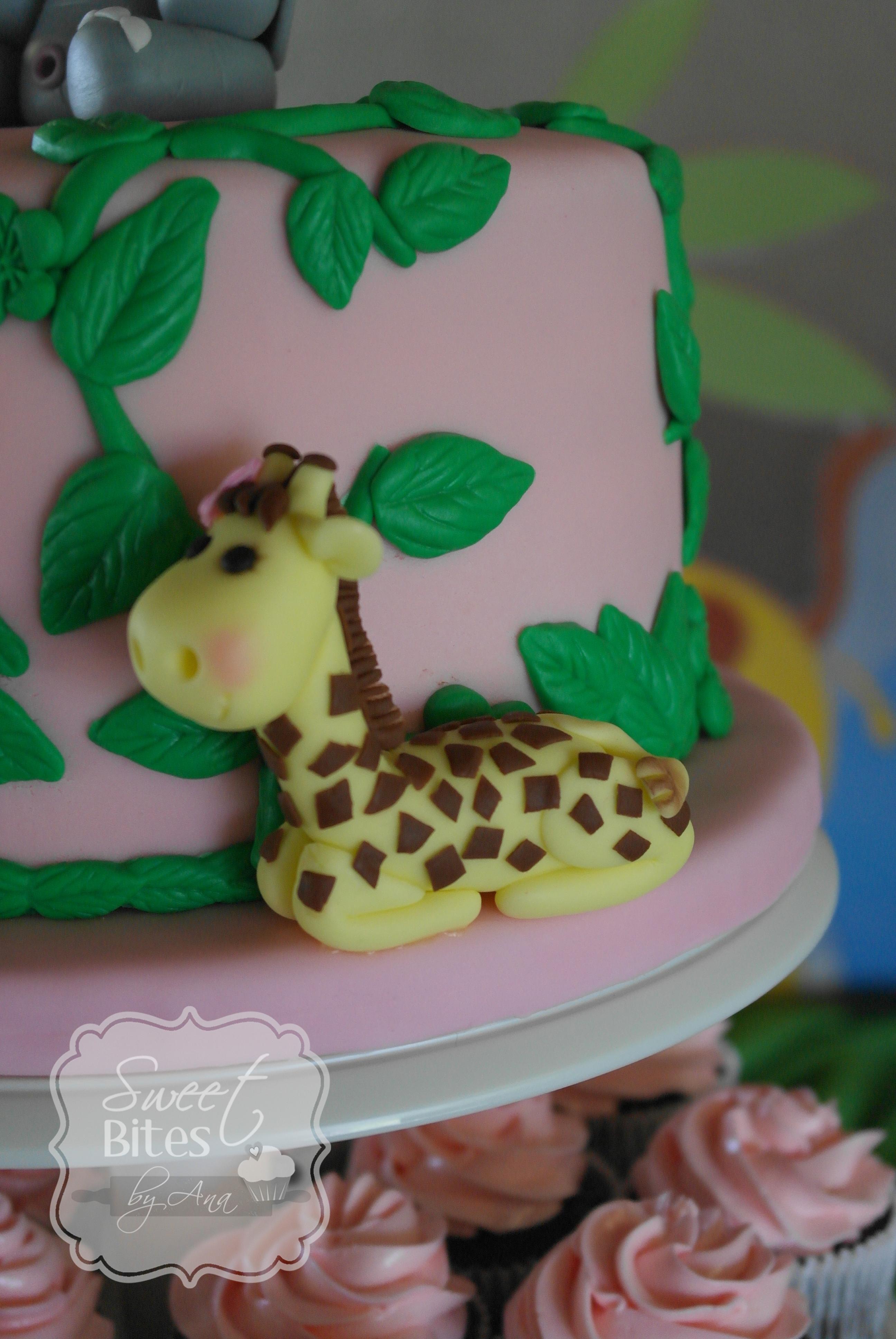 Jungle Theme Birthday Cake Recipe