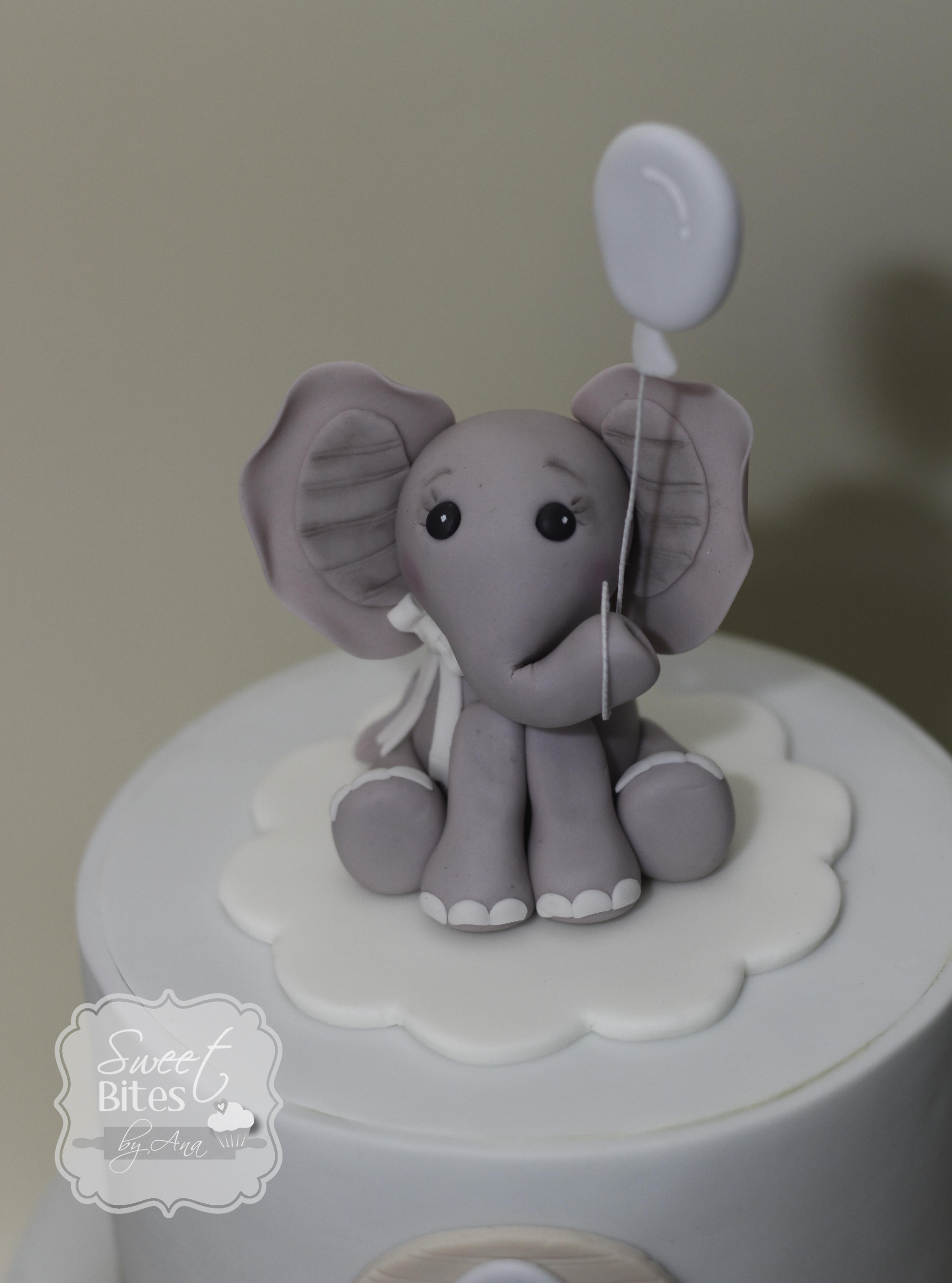 Animal Theme Boy Baby Shower Cake - CakeCentral.com