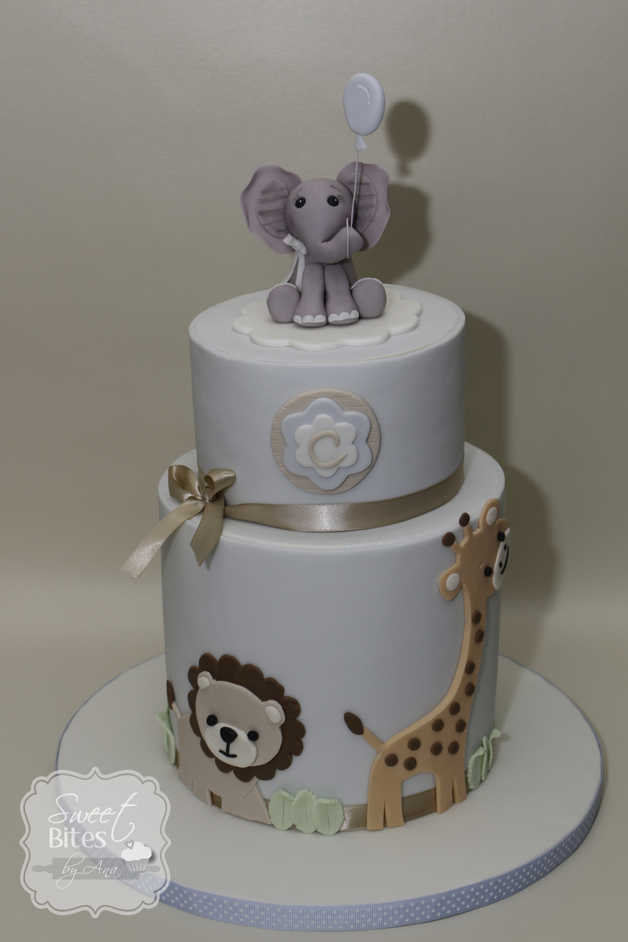 Elephant Baby Shower Cakes For A Boy