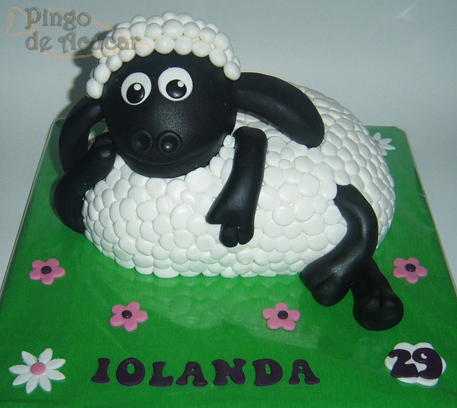 Shaun The Sheep 3D Cake on Cake Central