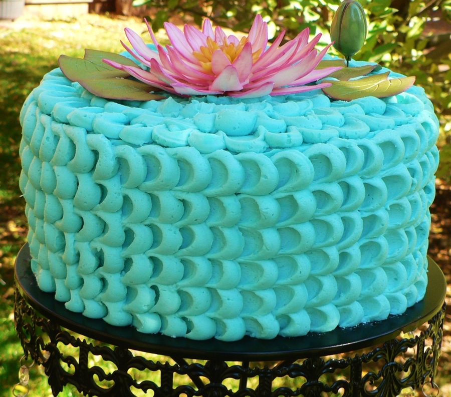 Lotus Flower Birthday Cake Cakecentral Com