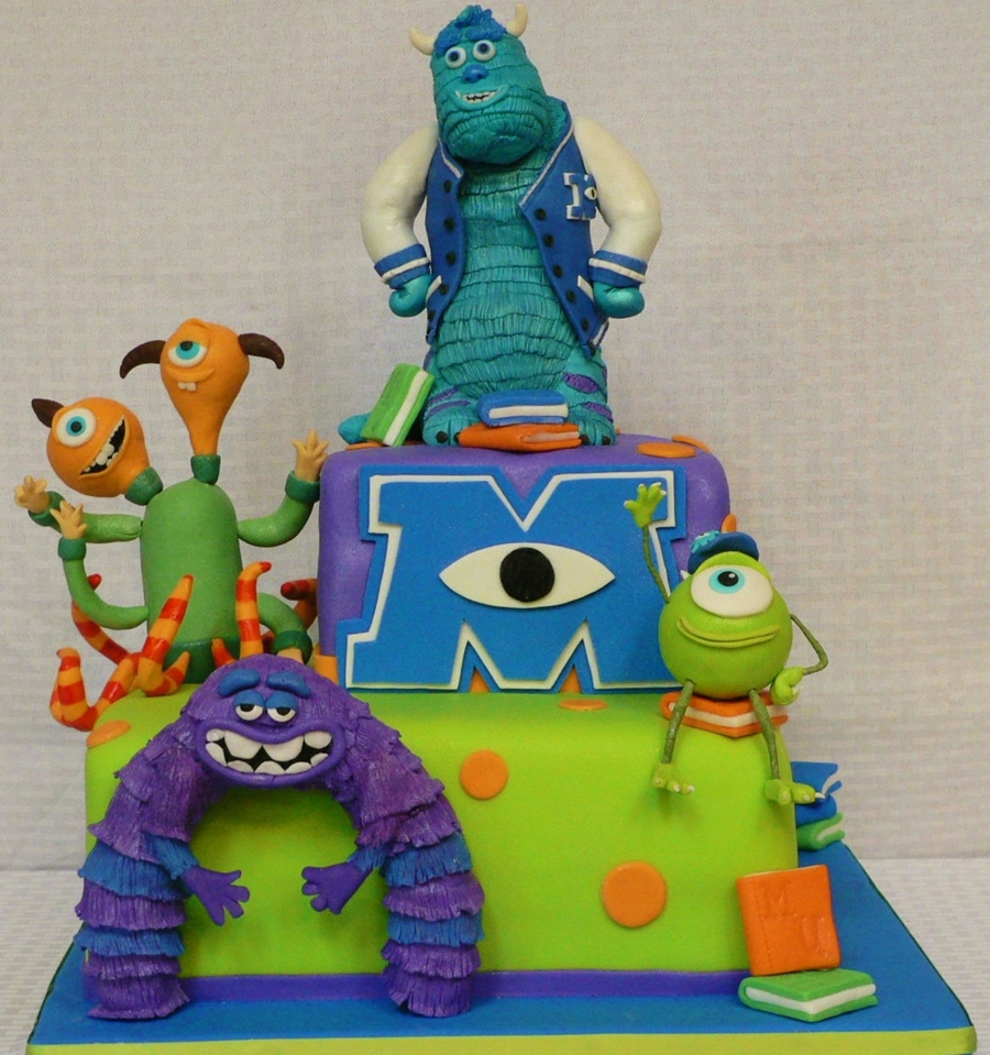 Monsters University Cake Images